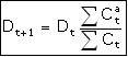 formula t+1
