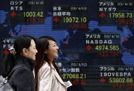 schermata con indice nikkei